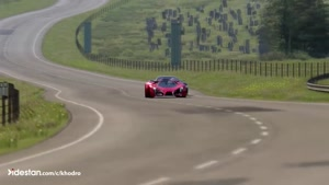 didestan.com -درگ جذاب فراری F80 و مرسدس بنز GT