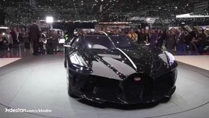 didestan.com - خودرو بوگاتی La Voiture Noire معرفی شد