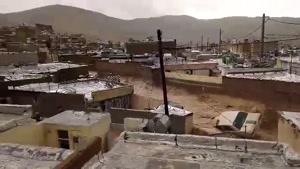 سیل در محلهی سعدی، بلوار نارنجستان