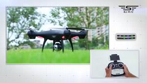 کوادکوپتر همه چی تمام و دوربین دار SJRC S۷۰W دارای GPS/ایستگاه پرواز