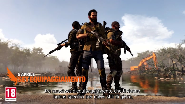 تریلر بازی Tom Clancy's The Division 2