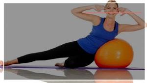 تمرین آب کردن شکم بانوان با ورزش پیلاتس