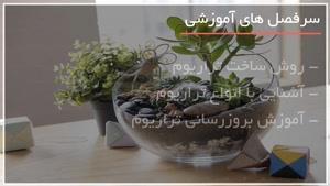 ساخت آکواریوم گیاهی معلق