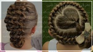 ۲۰ترفند بافت موی دخترانه