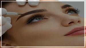 ترفند تتو صورت برای داشتن لب های قرینه و خوشگل