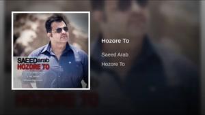 آهنگ حضور تو از سعید عرب