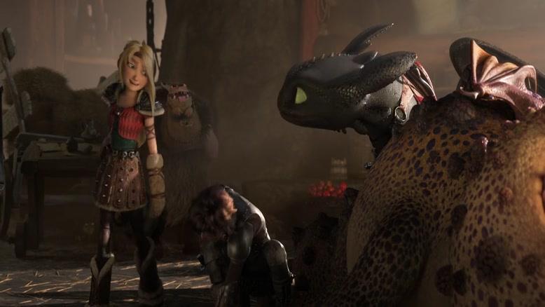 انیمیشن How To Train Your Dragon 3 2019 دوبله فارسی