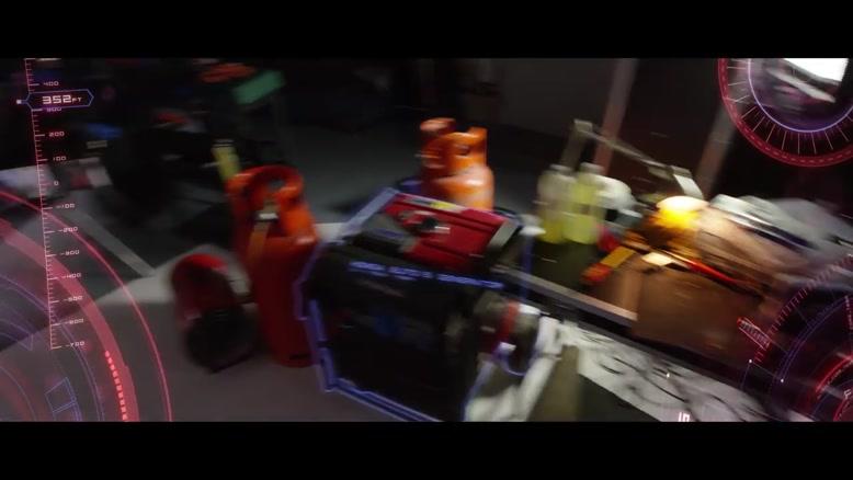 صحنه جالب و دیدنی جلوه های ویژه فیلم Iron Man