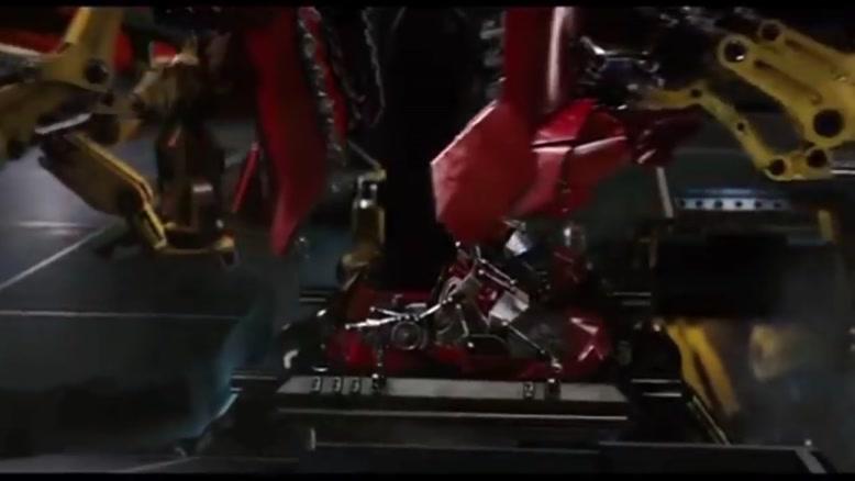پرده سبز تونی استارک در فیلم iron Man
