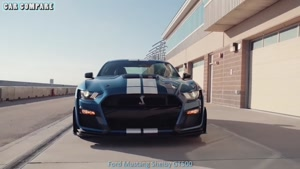 ۲۰۲۰ Ford Mustang Shelby GT۵۰۰-Ford Mustang