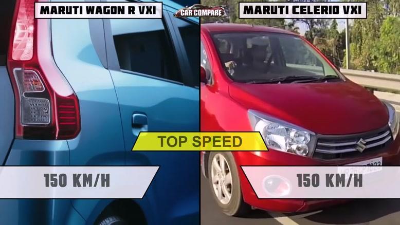 New wagon R vs Maruti celerio