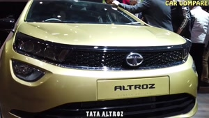 Altroz -Tata&#۱۴۶s premium hatchback Tata Altroz -Rival To Baleno and Elit