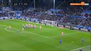 خلاصه بازی بارسلونا و آلاوس _ لالیگا اسپانیا