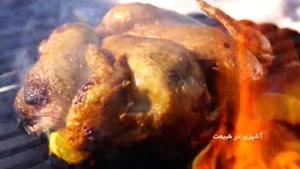 طرز تهیه مرغ سرخ شده با عصاره پرتقال