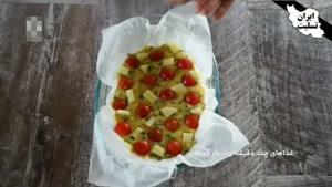 طرز تهیه کوکو مارچوبه