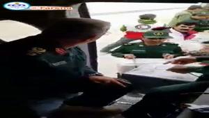 امدادرسانی نیروی زمینی سپاه به سیل زدگان پلدختر