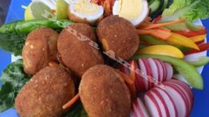طرز تهیه تخم مرغ سوخاری