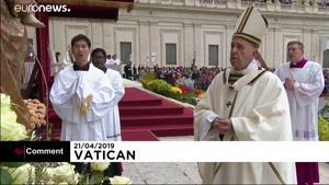 خطابه عید پاک پاپ فرانسیس