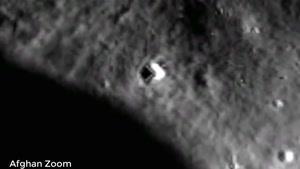 موجودات عجیب در کره ماه
