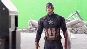 پشت صحنه فیلم  Captain America Civil War قسمت اول