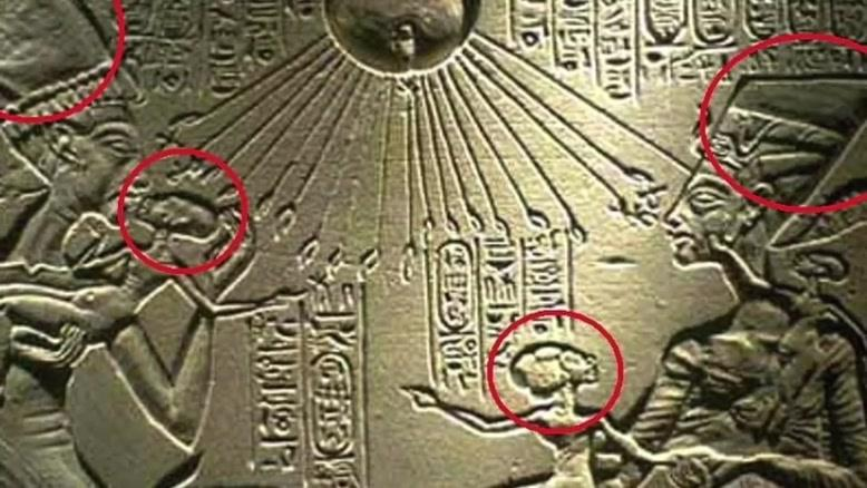 اهرام مصر و نشانه های وجود فرازمینی ها در مصر باستان