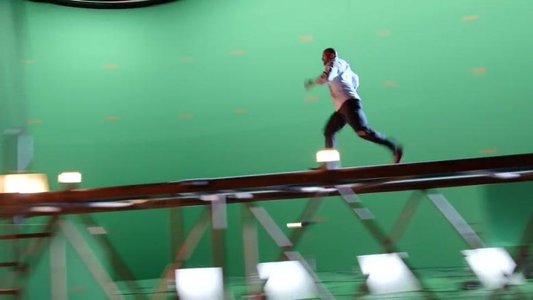 پشت صحنه فیلم آسمان خراش قسمت اول