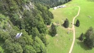 اوج هیجان پرواز بر فراز آسمان های سوئیس