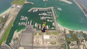 پرش های  رویایی در یکی از برج های دبی