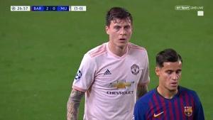 دانلود بازی بارسلونا و منچستریونایتد لیگ قهرمانان اروپا ۲۰۱۸/۱۹