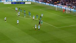 بازی کامل منچسترسیتی  و تاتنهام مرحله یک چهارم نهایی دور برگشت