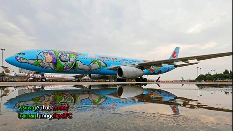 رنگ امیزی های متفاوت  هواپیماهای معروف