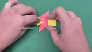 برنامه آموزش اوریگامی قسمت نوزده