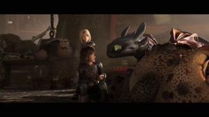 انیمیشن مربی اژدها 3 دنیای پنهان دوبله فارسی