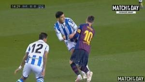 خلاصه بازی تیم های بارسلونا و رئالسوسیداد