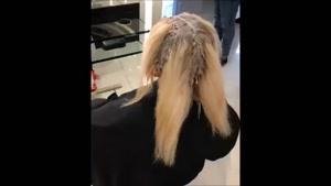 کوتاهی و رنگ کردن مو