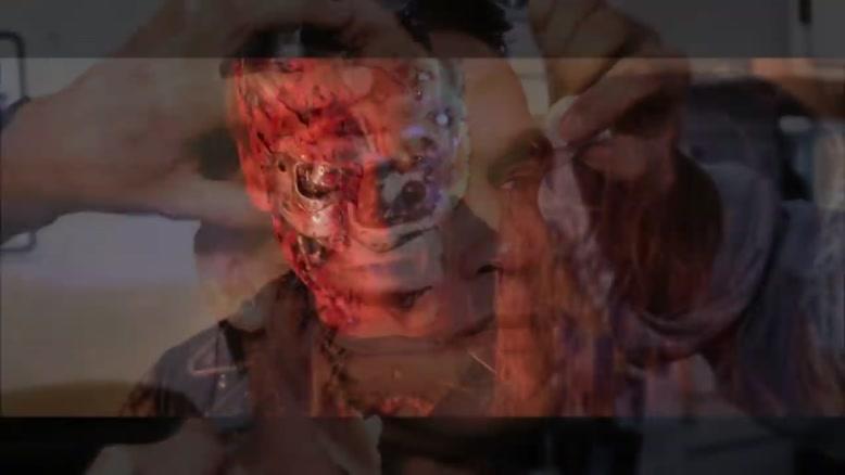 گریم حرفه ای در فیلم TERMINATOR GENISYS