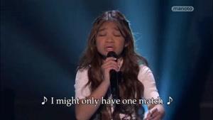 استعداد باورنکردنی دختر خواننده