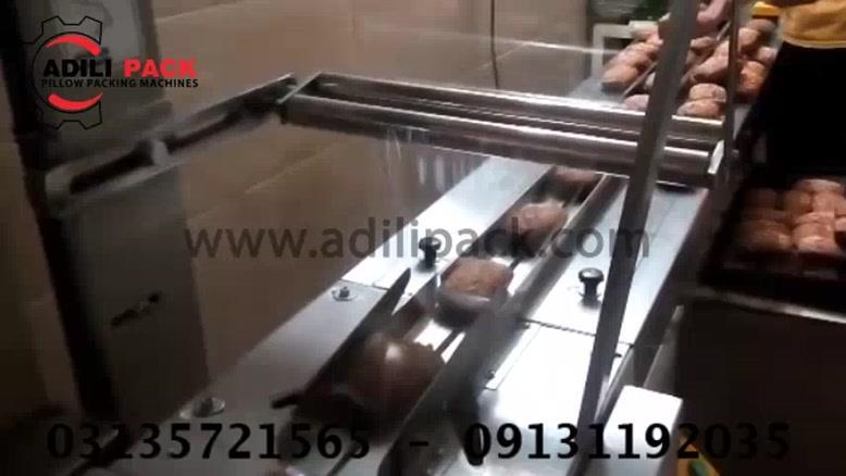 دستگاه بسته بندی کیک،ساخت ماشین سازی عدیلی