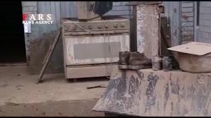 نماشا - تصاویر هوایی از منطقه سیلزده پلدختر