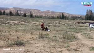 تماشا -حمله ی عقاب به دختر بچه