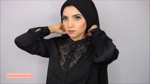 دیدستان - آموزش بستن شال و روسری بلند برای دانشگاه