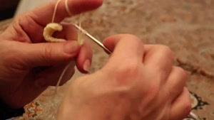 آموزش بافتنی و قلاب بافی (گل ۳ تایی) توسط خانم منیژه غفاری