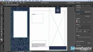 آموزشایندیزاین InDesign CC 2019 editing text