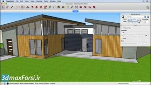 دوره آموزش اسکچاپ  Build your design ideas with SketchUp Pro
