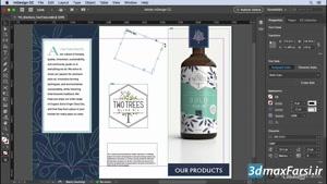پاراگراف استایل در ایندیزاین InDesign CC 2019 Moving objects