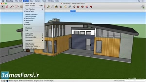 آموزش نرم افزار برنامه اسکچاپ لیندا SketchUp ۲۰۱۹ Walking  models