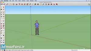 آموزش SketchUp ۲۰۱۹ Customize the toolbar for Mac