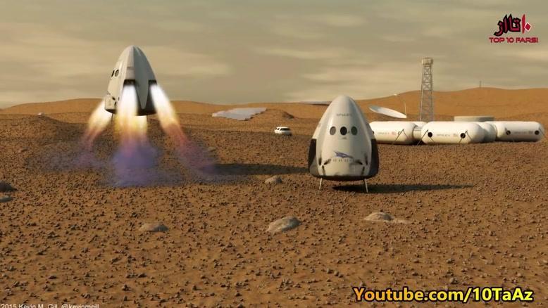 پایان عمر زمین, شکوفایی مریخ