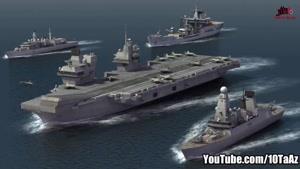۱۰ تا از قدرتمندترین ارتش های جهان در سال ۲۰۱۹