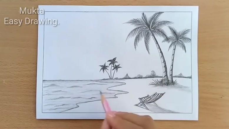 نقاشی ساده ولی زیبا